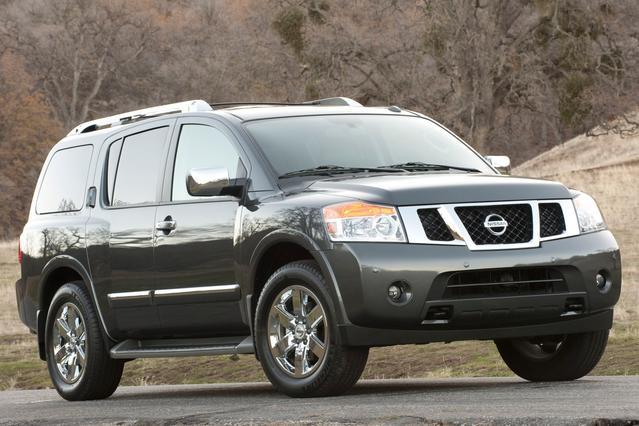 2012 Nissan Armada PLATINUM Slide 0