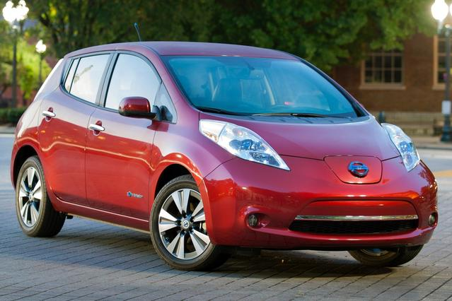 2015 Nissan LEAF SL Hatchback North Charleston SC