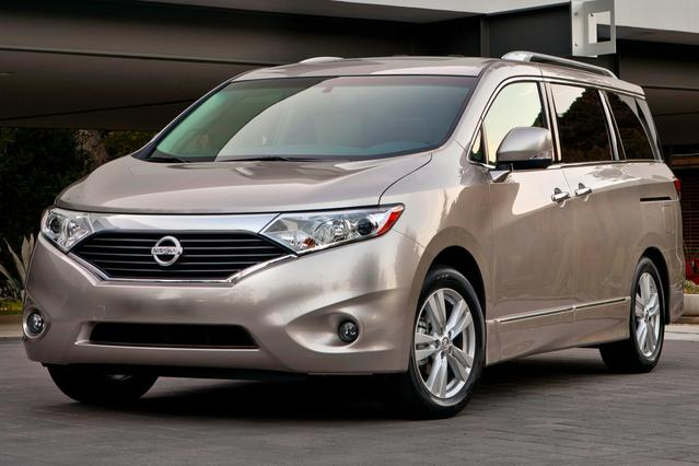 2015 Nissan Quest S Mini-van, Passenger Slide 0