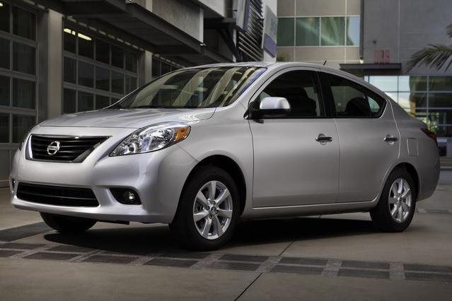 2012 Nissan Versa 1.8 S Slide 0