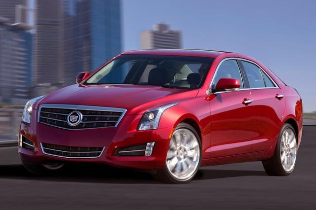 2013 Cadillac ATS 4DR SDN 2.5L LUXURY RWD  NC