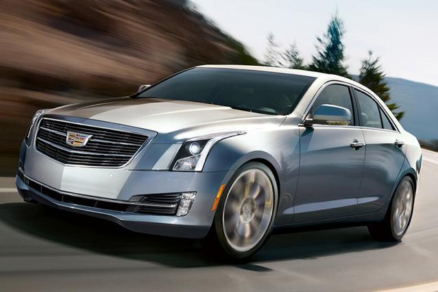 2015 Cadillac Ats Sedan LUXURY RWD 4dr Car Slide 0