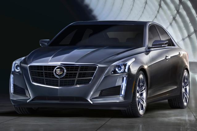 2014 Cadillac CTS Sedan RWD 4dr Car Slide 0
