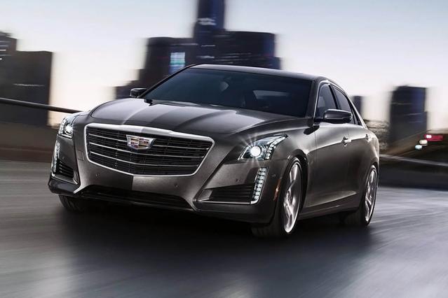 2015 Cadillac CTS Sedan LUXURY RWD 4dr Car Slide 0
