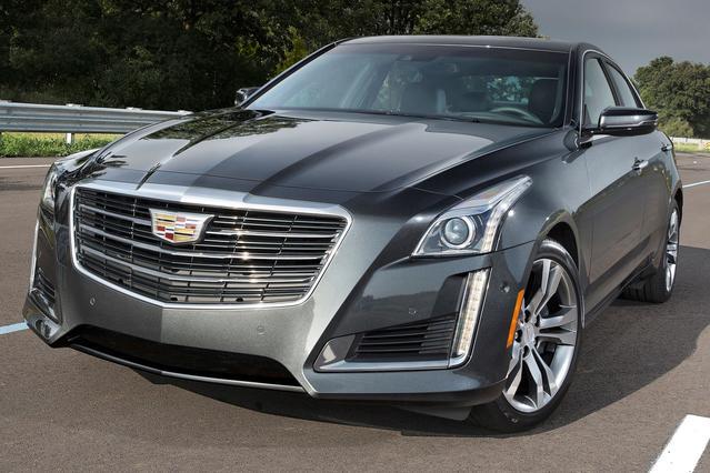 2016 Cadillac CTS 3.6L LUXURY 4dr Car Slide 0