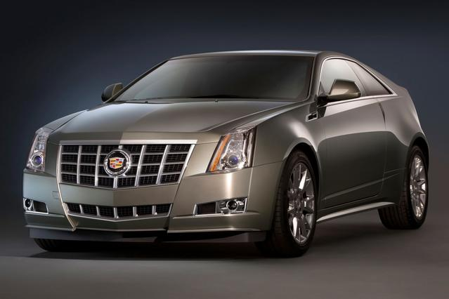 2013 Cadillac Cts Coupe PERFORMANCE 2dr Car Slide 0