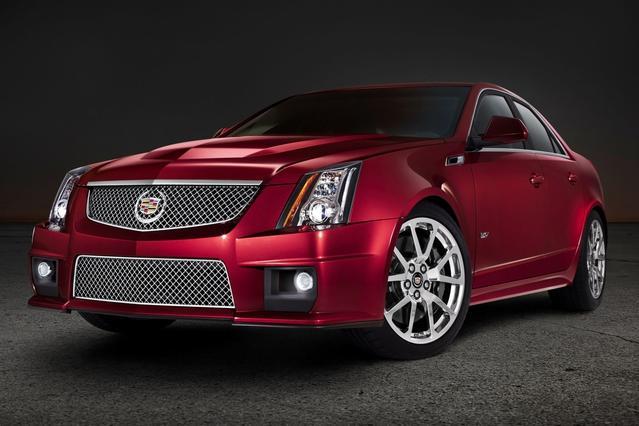 2014 Cadillac CTS-V Sedan 4DR SDN Sedan Slide 0