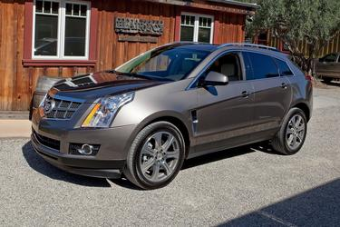 2012 Cadillac SRX  SUV Slide