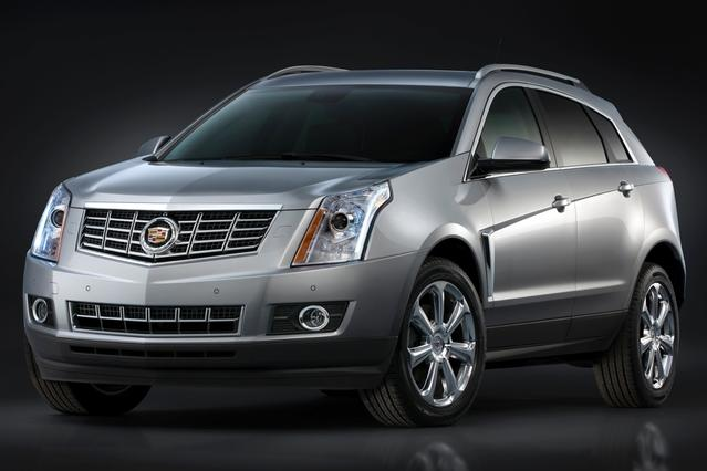 2015 Cadillac SRX PREMIUM COLLECTION Sport Utility Slide 0
