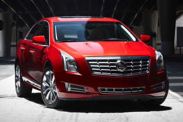 2014 Cadillac XTS VSPORT PLATINUM 4dr Car Slide 0