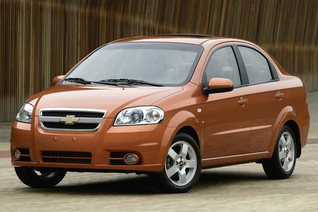 2008 Chevrolet Aveo LT 4dr Car Slide 0