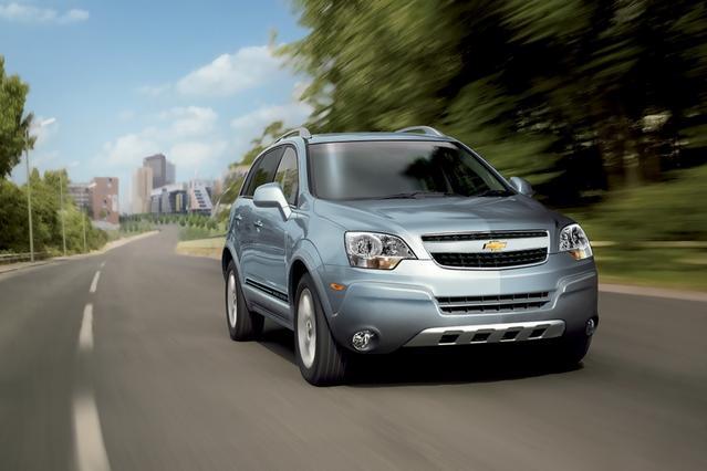 2013 Chevrolet Captiva Sport Fleet LTZ SUV Slide 0