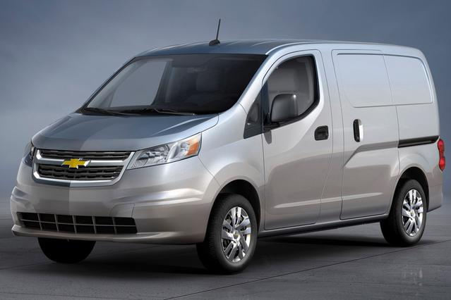 2015 Chevrolet City Express Cargo Van LS Mini-van, Cargo Slide 0