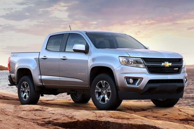 2015 Chevrolet Colorado WORK TRUCK Extended Cab Pickup Slide 0
