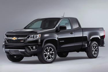2016 Chevrolet Colorado LT Crew Cab Pickup Slide
