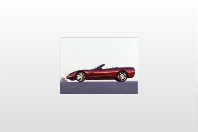 2003 Chevrolet Corvette 2DR CONVERTIBLE Convertible Slide 0