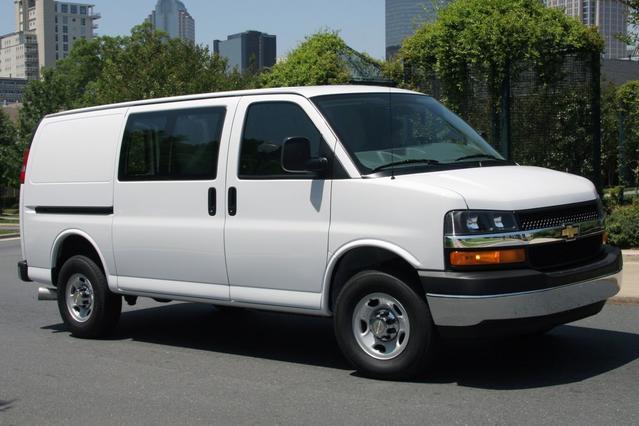 2014 Chevrolet Express 1500 LS Full-size Passenger Van Slide 0