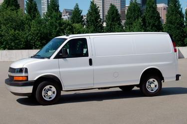 2016 Chevrolet Express Cargo Van RWD 2500 155 Van Apex NC