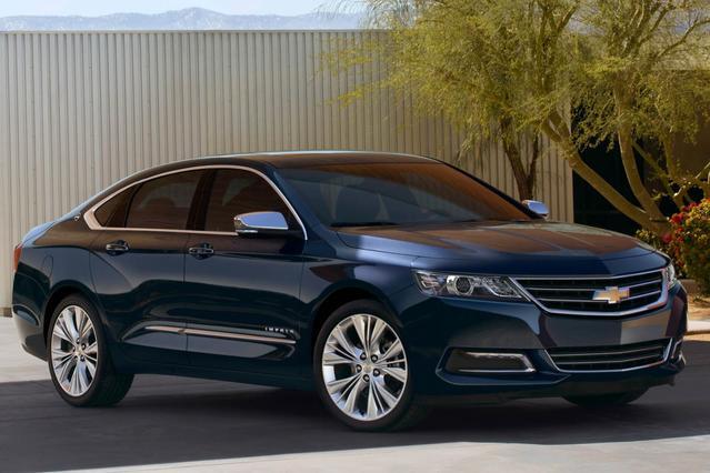 2014 Chevrolet Impala LT 4dr Car Slide 0