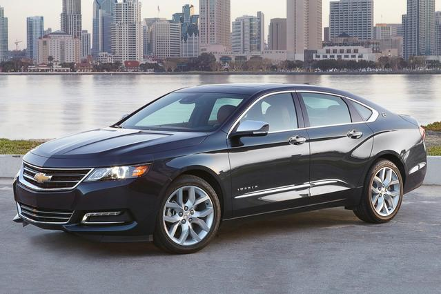2015 Chevrolet Impala LS 4dr Car Slide 0