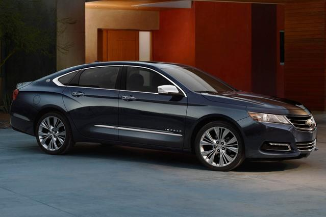 2016 Chevrolet Impala LS 4dr Car Slide 0