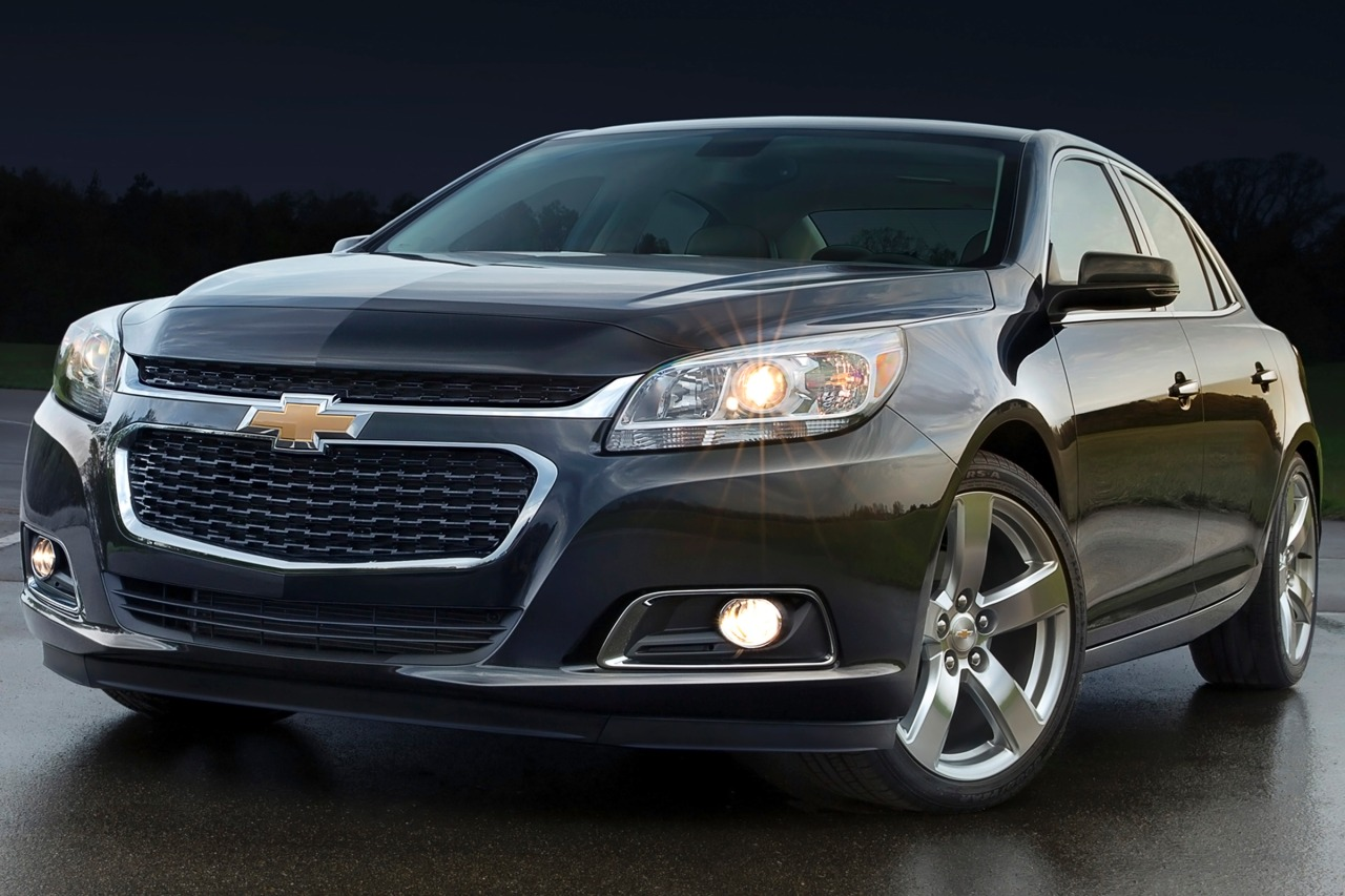 2014 Chevrolet Malibu LT 4dr Car Slide 0
