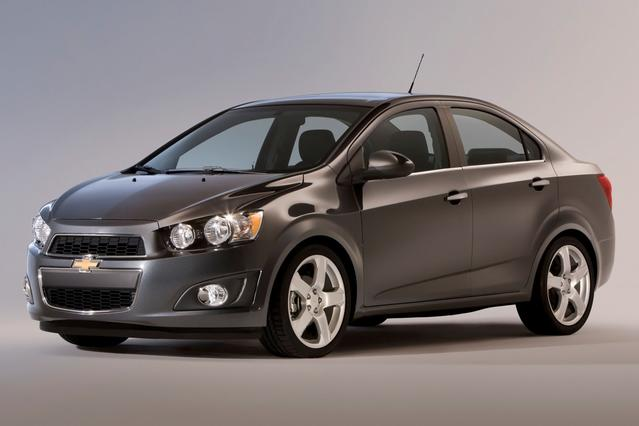 2012 Chevrolet Sonic LTZ 4dr Car Slide 0