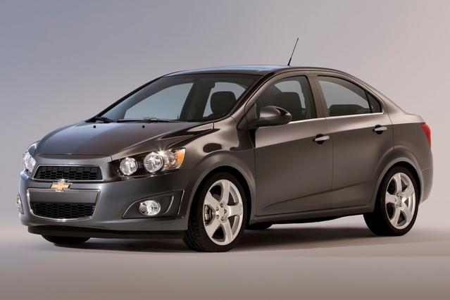 2012 Chevrolet Sonic LS Sedan Slide 0