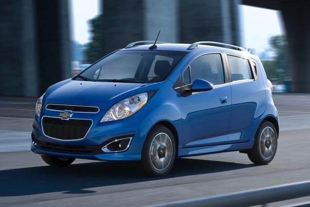 2013 Chevrolet Spark LS Hatchback Slide 0