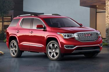 Crimson Red 2017 GMC Acadia Denali  Indian Trail NC