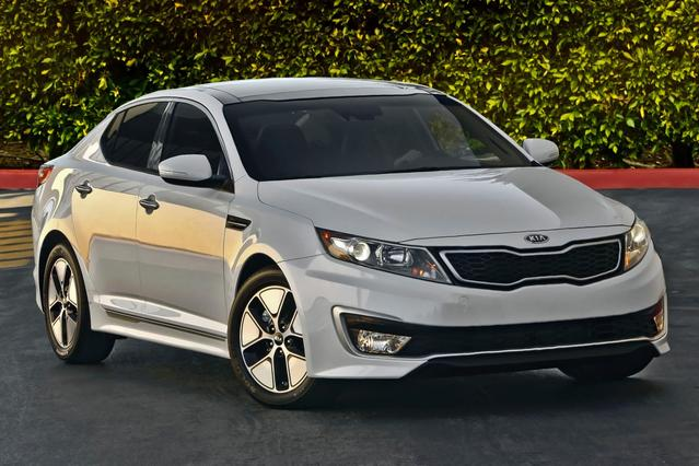 2012 Kia Optima SX 4dr Car Slide 0
