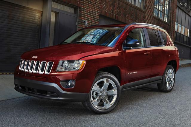 2014 Jeep Compass HIGH ALTITUDE Sport Utility Slide 0