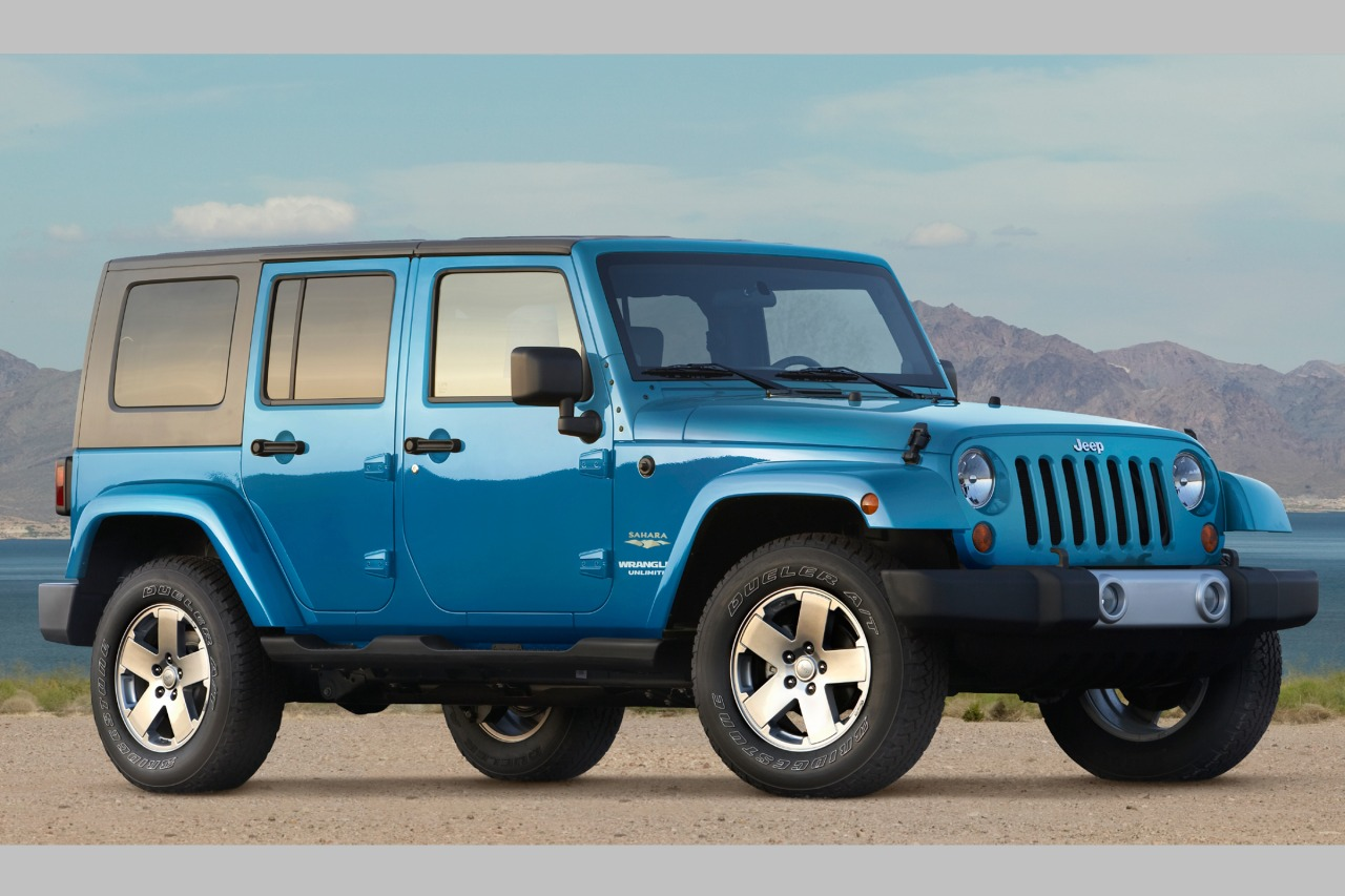 2010 Jeep Wrangler UNLIMITED SPORT Slide 0