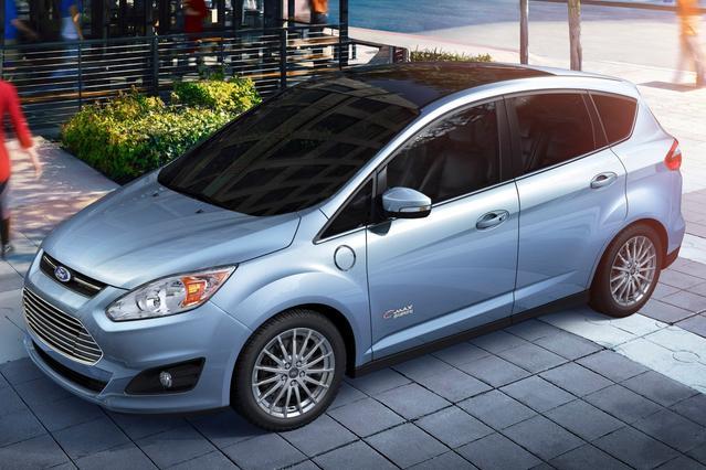 2016 Ford C-Max Energi SEL Hatchback Slide 0