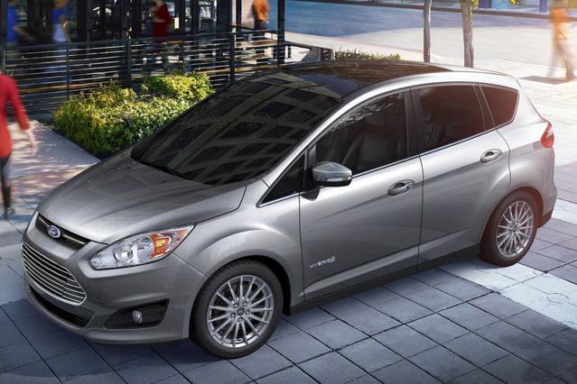 2013 Ford C-Max Hybrid SEL Hatchback Slide 0