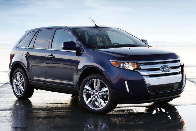 2014 Ford Edge SEL Sport Utility Slide 0