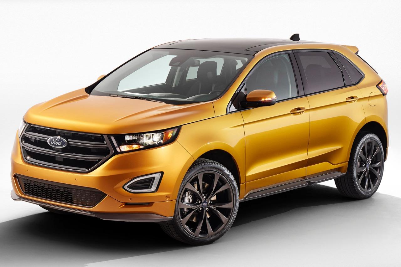 2015 Ford Edge TITANIUM SUV Slide 0