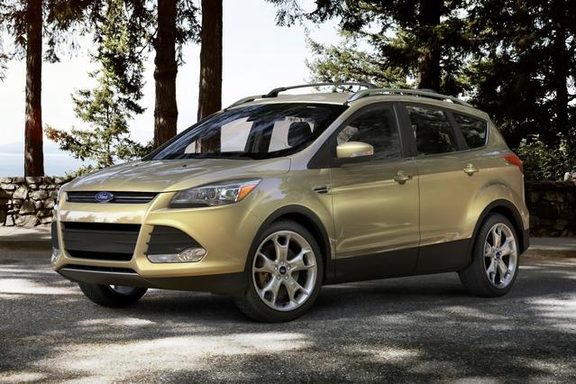 2014 Ford Escape TITANIUM 4D Sport Utility Slide 0