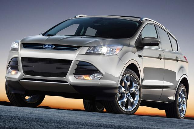 2015 Ford Escape TITANIUM 4D Sport Utility Slide 0