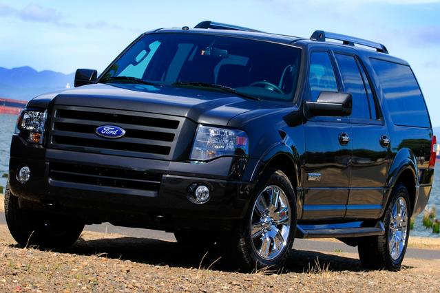 2008 Ford Expedition El EDDIE BAUER 4D Sport Utility Slide 0