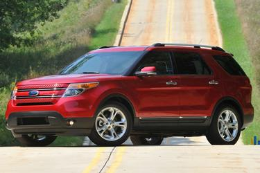 2013 Ford Explorer XLT SUV Slide