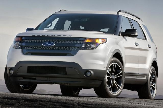 2015 Ford Explorer LIMITED Limited 4dr SUV Slide 0