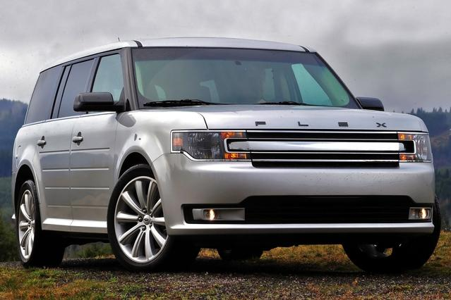 2015 Ford Flex SEL SUV Slide 0