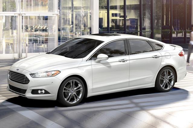 2017 Ford Fusion SPORT 4D Sedan Slide 0