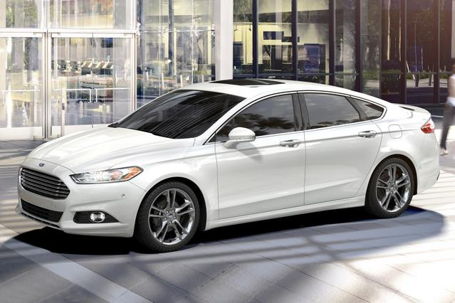 2017 Ford Fusion S 4dr Car Slide 0
