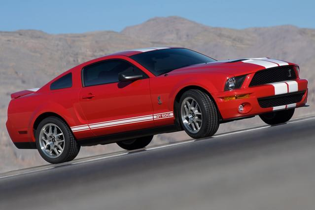 2007 Ford Mustang SHELBY GT500 2dr Car Slide 0