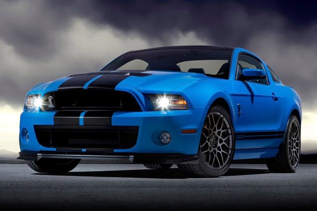 2014 Ford Mustang SHELBY GT500 2dr Car Slide 0