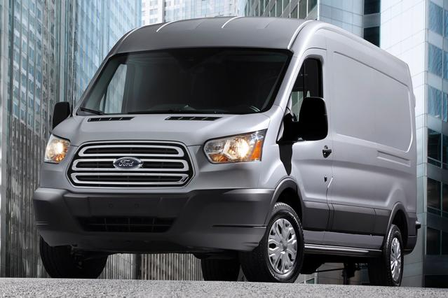2015 Ford Transit Cargo Van BASE Mini-van, Cargo Slide 0