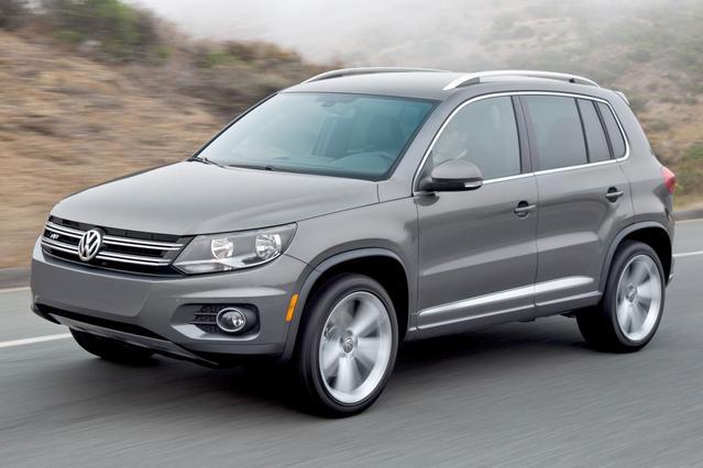 2015 Volkswagen Tiguan SEL SUV Slide 0