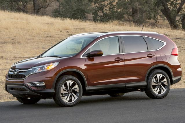 2016 Honda CR-V EX Slide 0